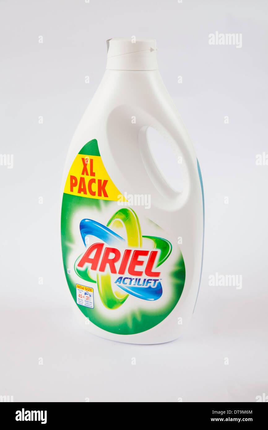 XL Pack Ariel Actilift Detergent Stock Photo