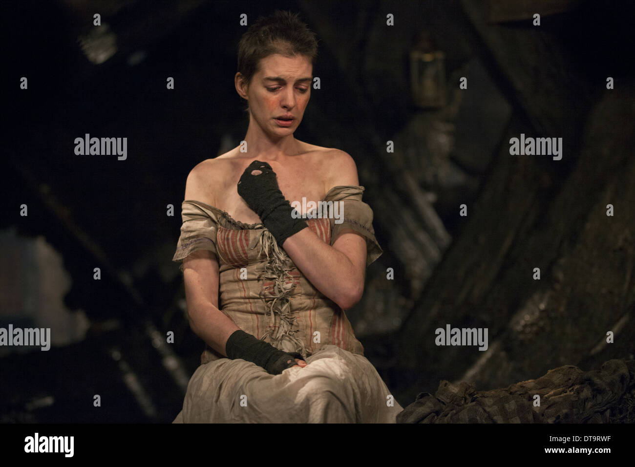 Anne Hathaway Les Miserables 2012 Stock Photo Alamy