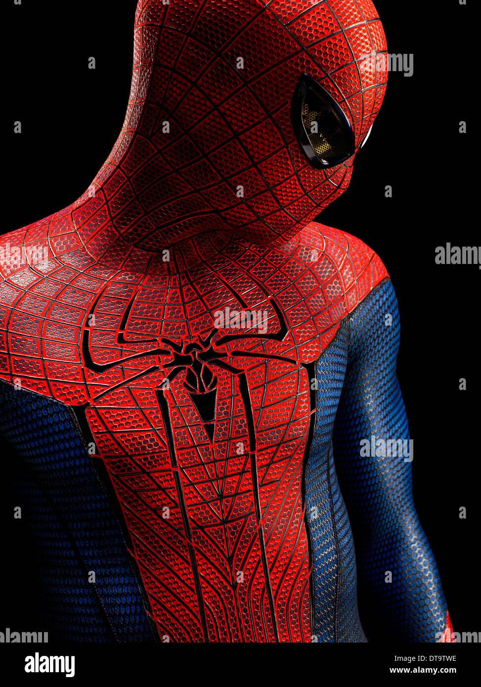 Andrew Garfield The Amazing Spider Man Spiderman Spider Man 2012 Stock Photo Alamy