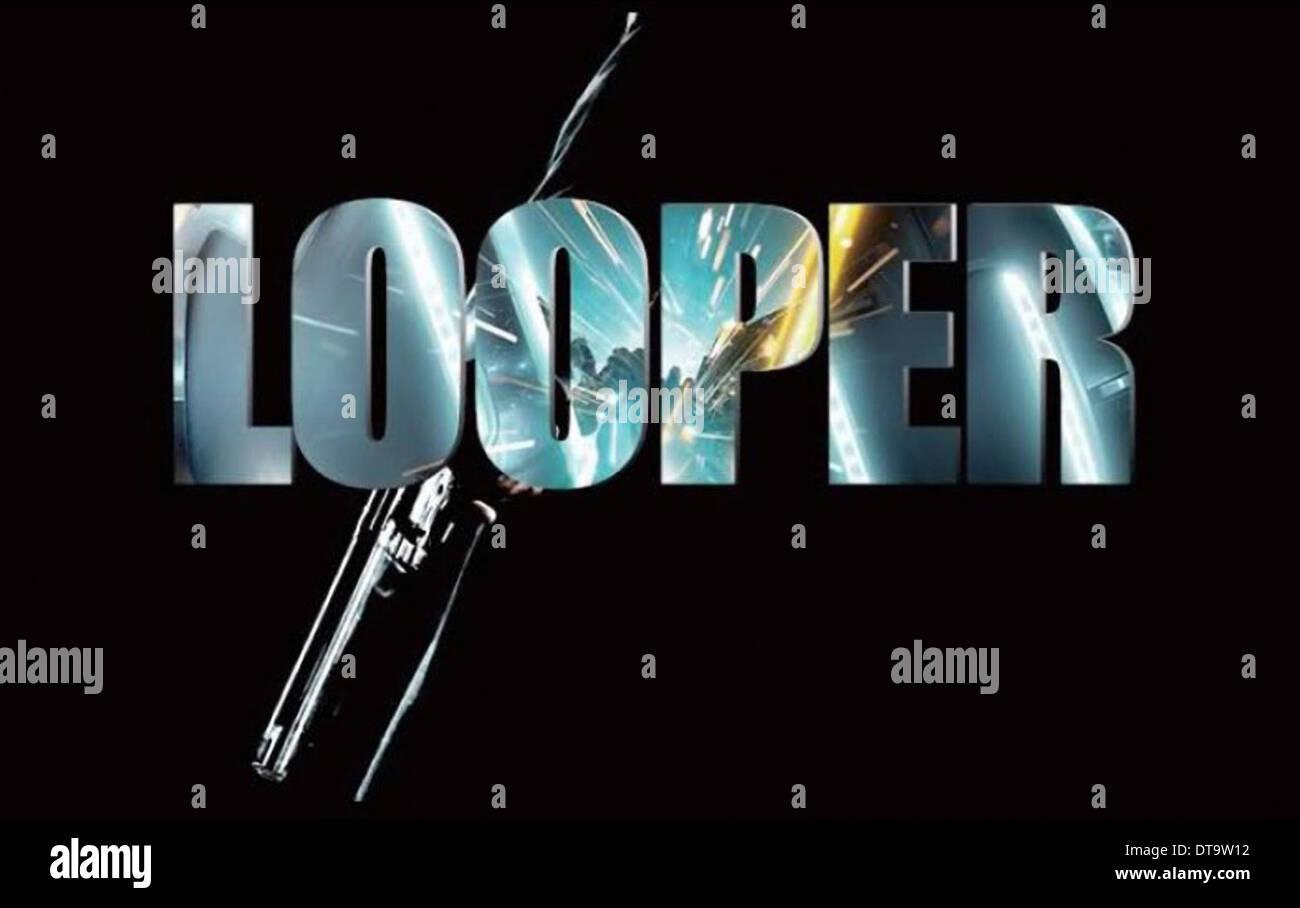 Movie Poster Looper 2012 Stock Photo Alamy