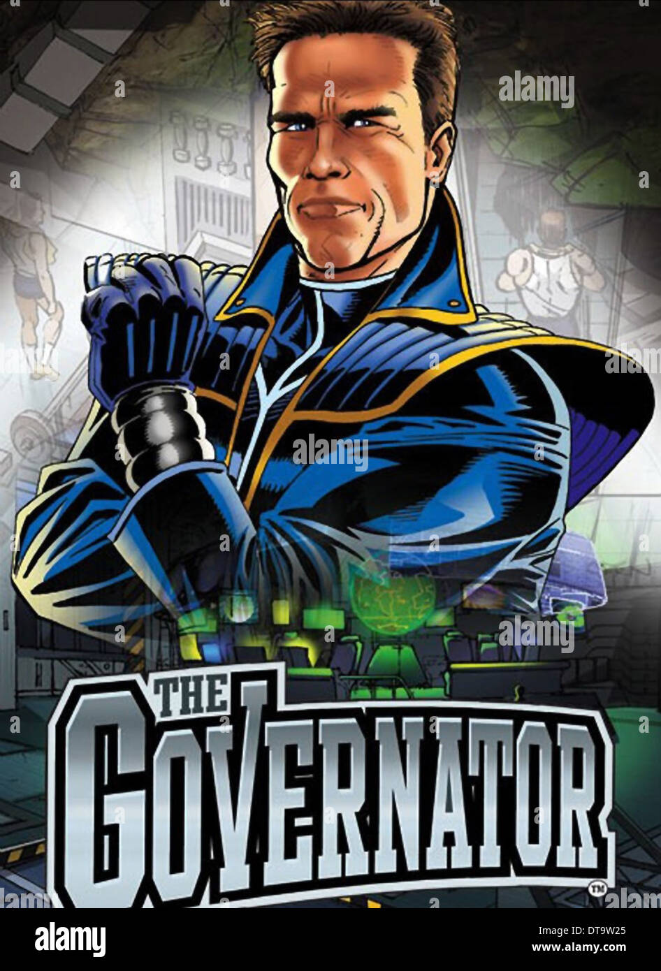 POSTER THE GOVERNATOR (2013) - Stock Image