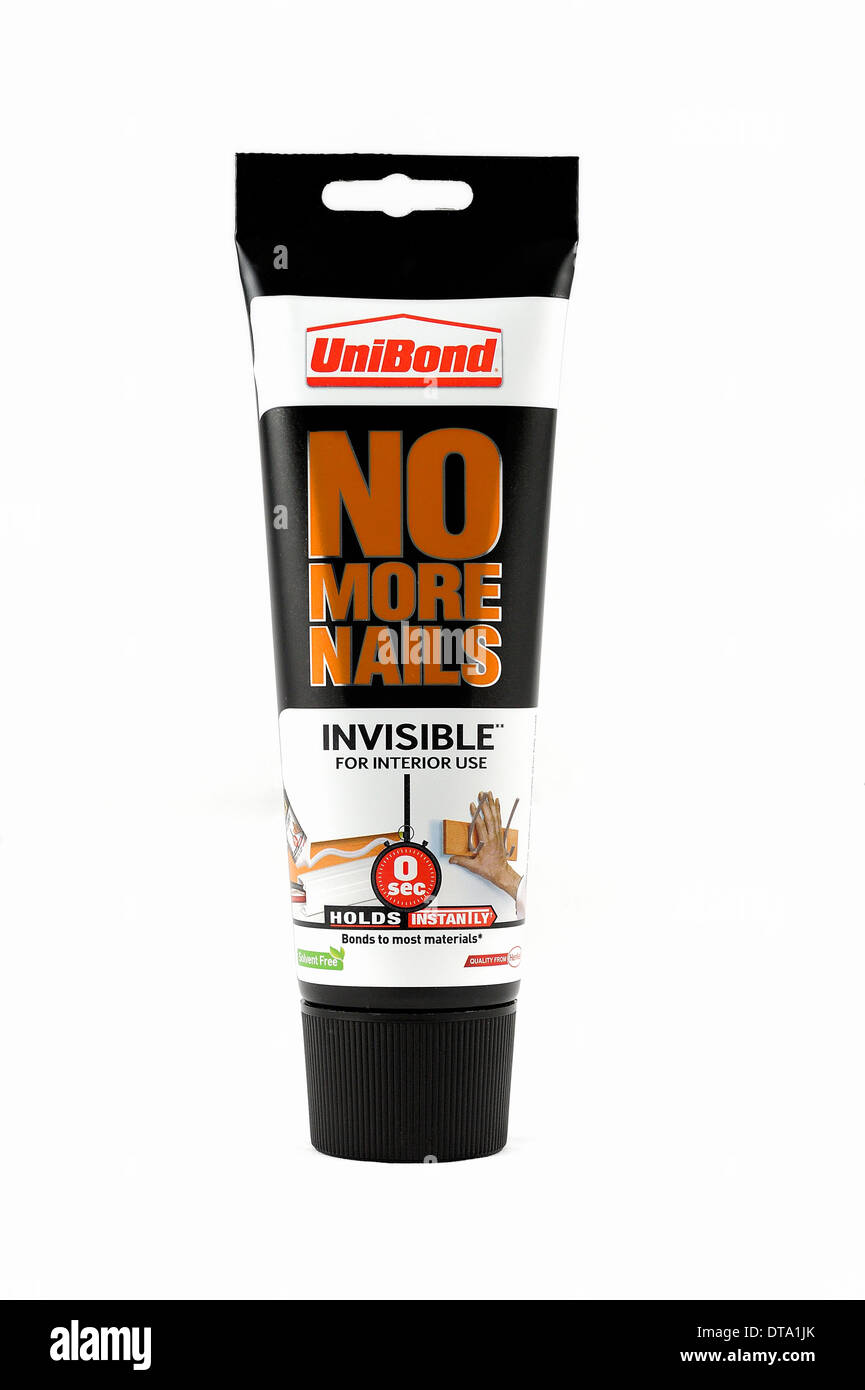 Unibond No More Nails - Stock Image