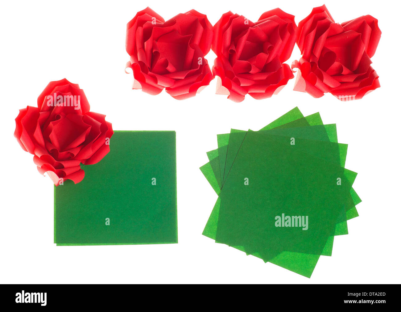 Paper flowers rose diy tutorial easy for children/origami flower ...   1010x1300