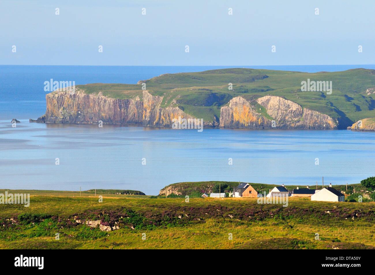 Loch Bracadale, Ross, Skye and Lochaber, Isle of Skye, Scotland, United Kingdom - Stock Image