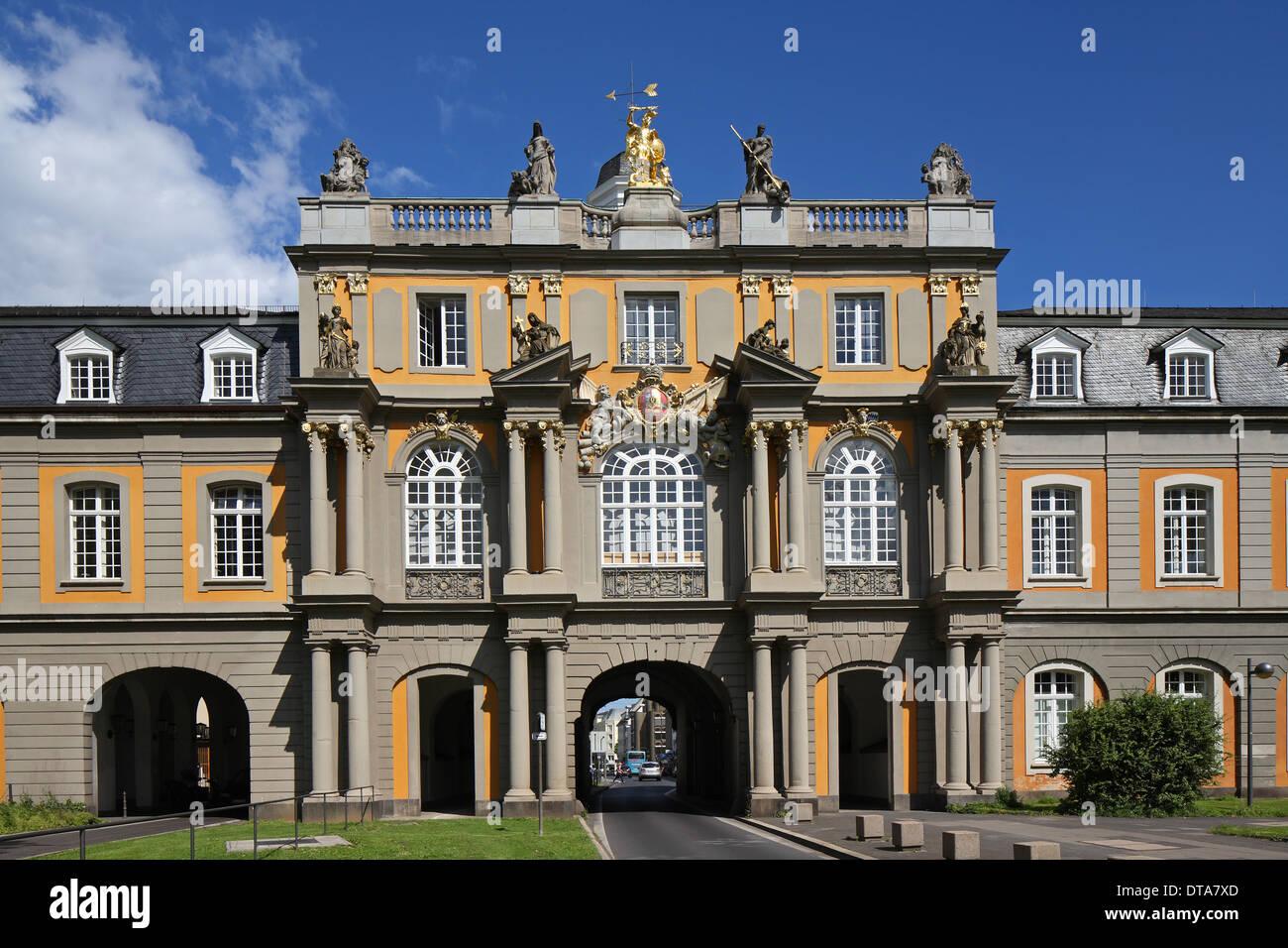Bonn, Kurfürstliches Schloss, jetzt Universität Stock Photo