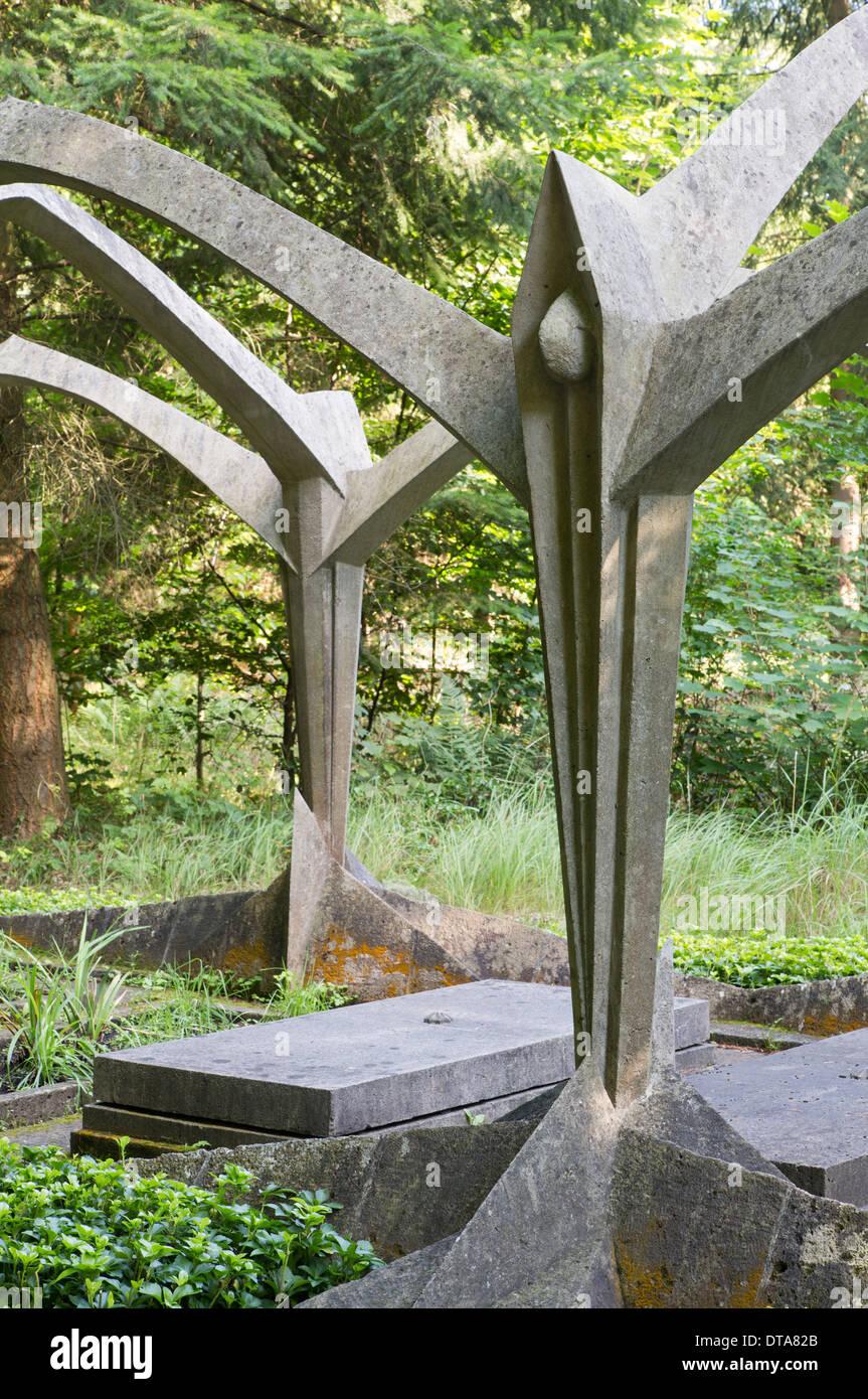 Stahnsdorf, Südwestkirchhof - Stock Image