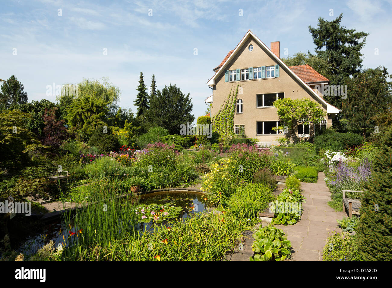 Potsdam Bornim Karl Foerster Garten Stock Photo 66608709 Alamy