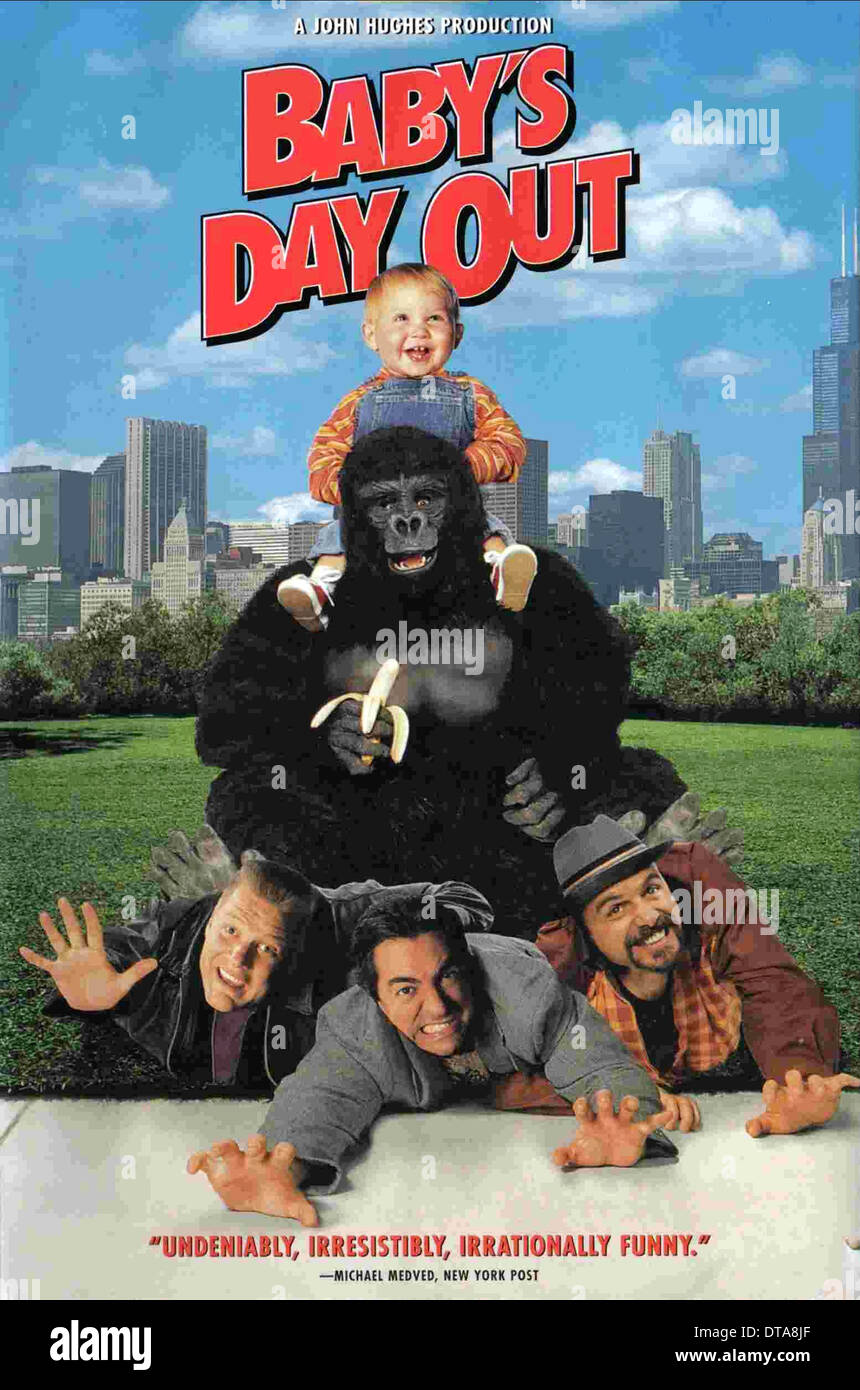 BABY BOY WITH GORILLA BABY'S DAY OUT (1994 Stock Photo: 66609159 ...