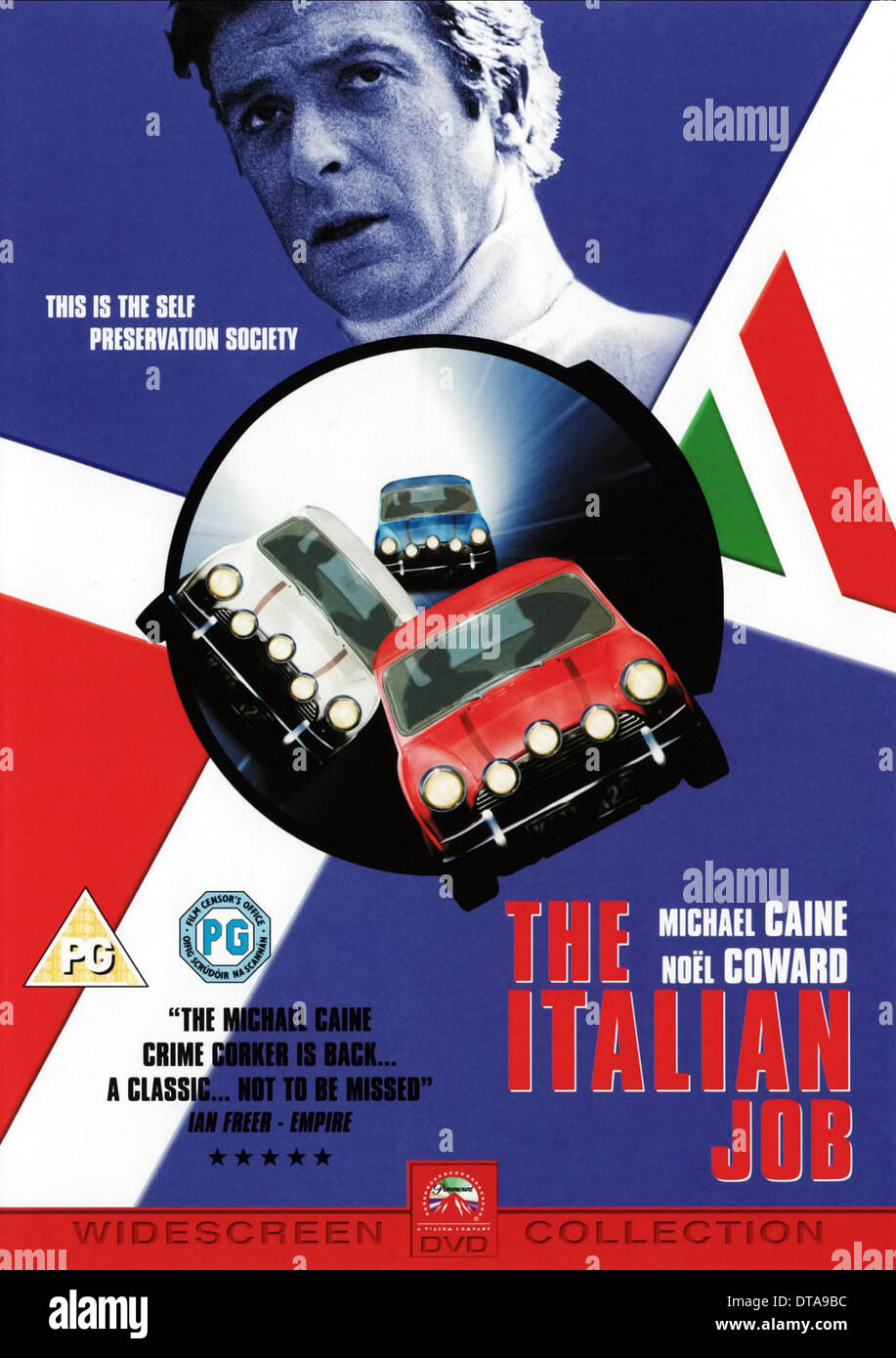 The italian job (1969) blu-ray cover dvd covers & labels by.