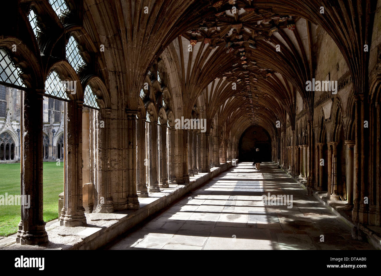 Canterbury, Cathedral and Metropolitical Church of Christ at Canterbur - Stock Image