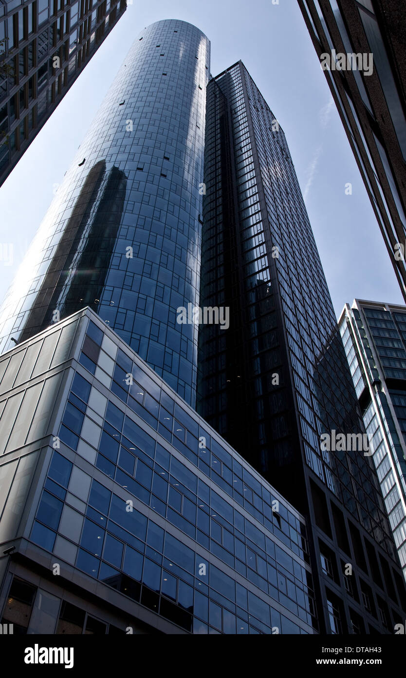 Frankfurt am Main, Bankentürme - Stock Image