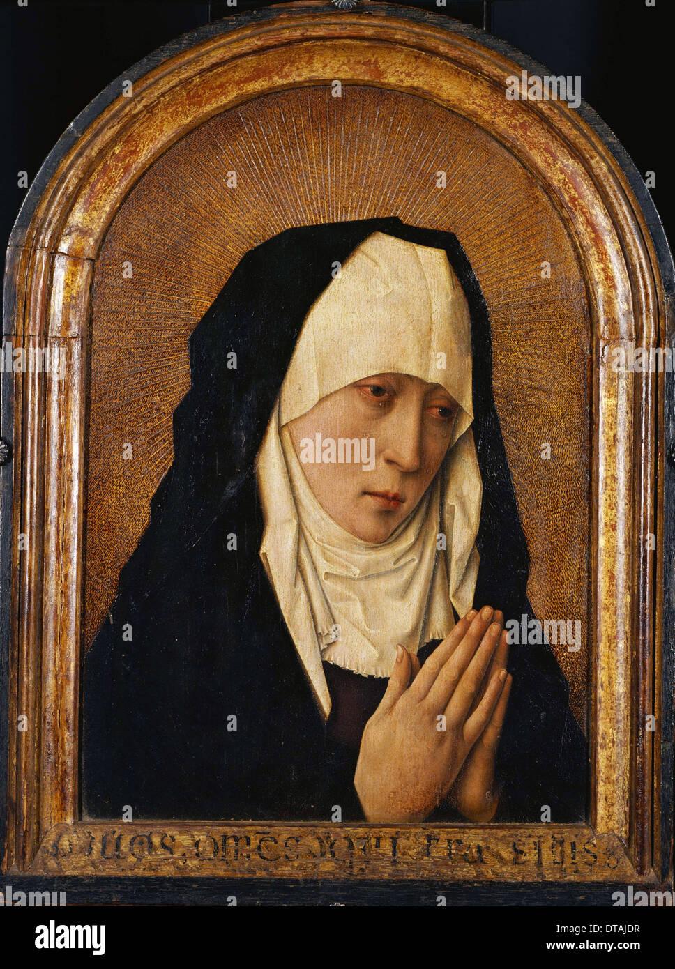 Mater Dolorosa. Artist: Bouts, Dirk (1410/20-1475) - Stock Image