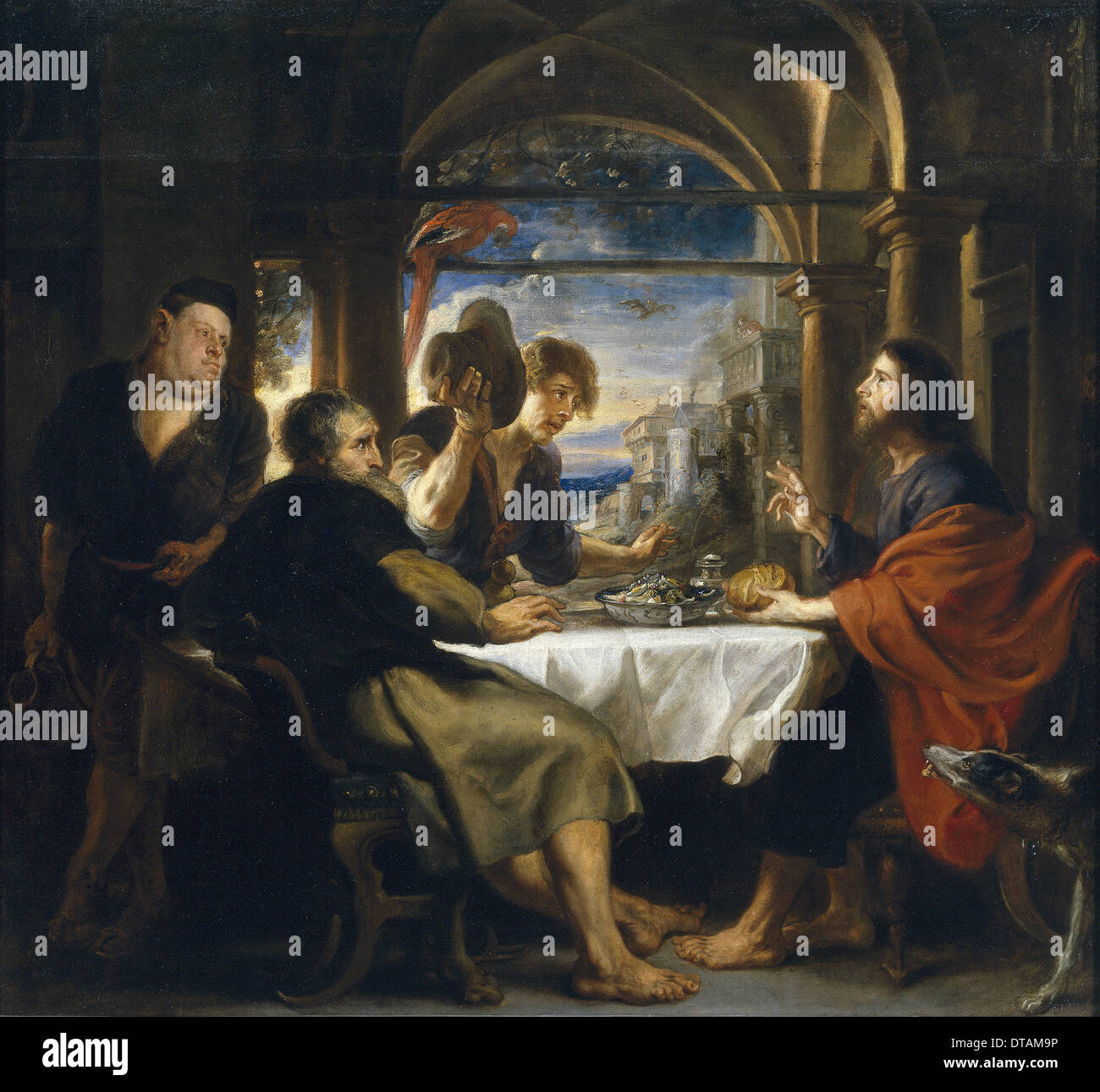 the supper at emmaus stock photos the supper at emmaus stock images alamy. Black Bedroom Furniture Sets. Home Design Ideas