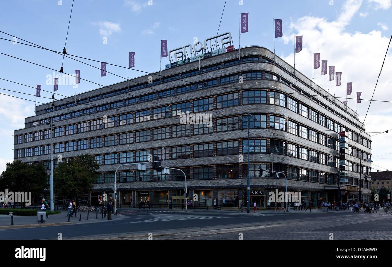 Wroclaw Breslau, ehem Kaufhaus Wertheim Stock Photo