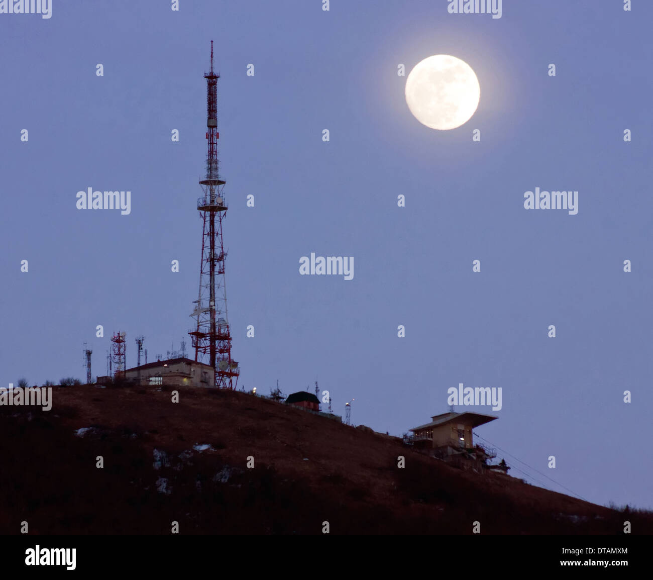 Tv tower - Stock Image