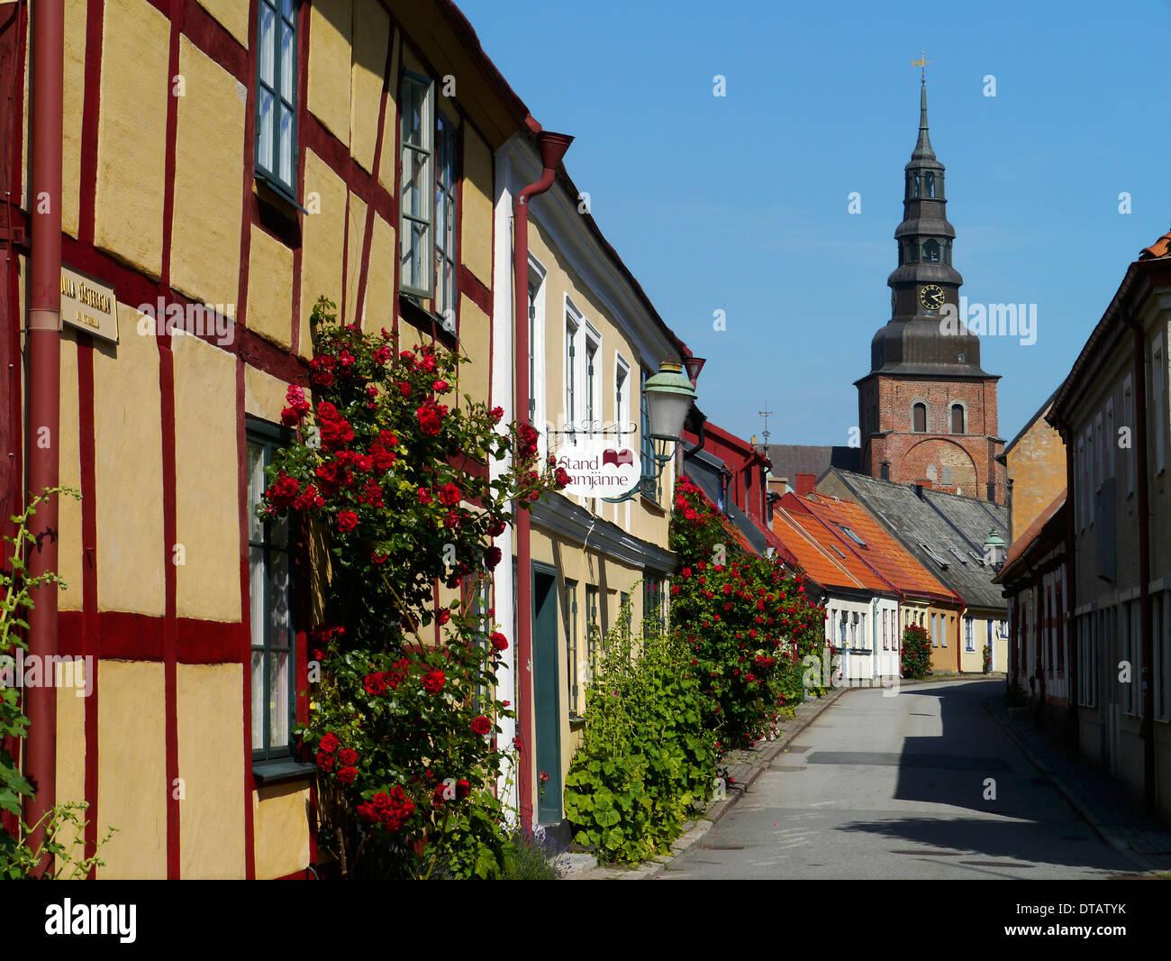 ystad, skåne, sweden - Stock Image