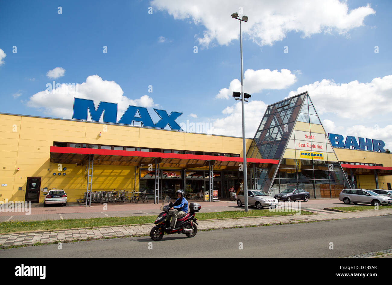 bremen, germany, hardware store chain max bahr stock photo: 66626975