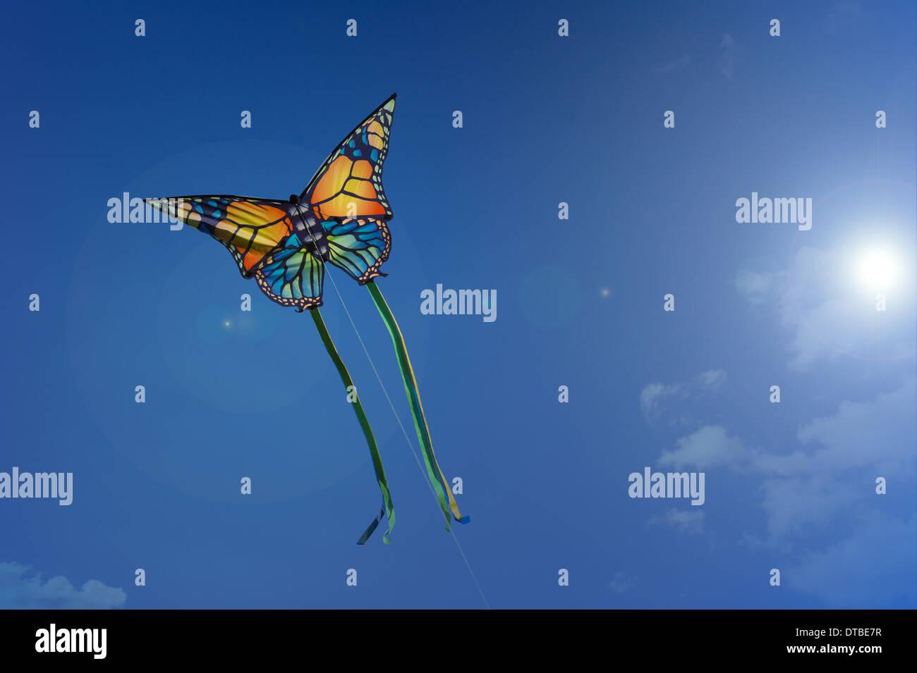 Berlin, Germany , fly kites - Stock Image