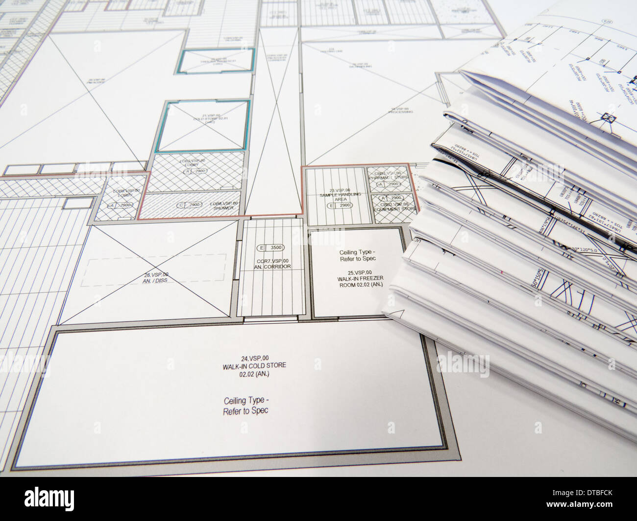 Mathematical construction stock photos mathematical construction blueprints stock image malvernweather Image collections