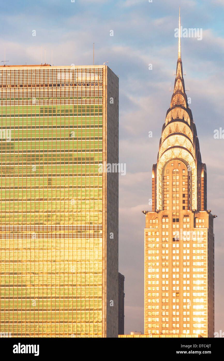 Chrysler Building, Manhattan, New York City - Stock Image