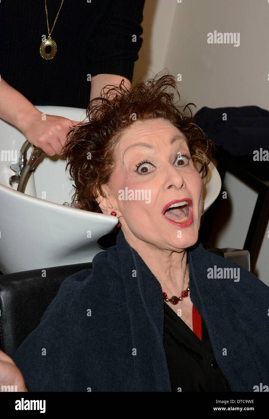 New York, NY, USA. 14th Feb, 2014. Carol Lawrence inside for Carol Lawrence Readies for Her Return to HANDLE WITH Stock Photo