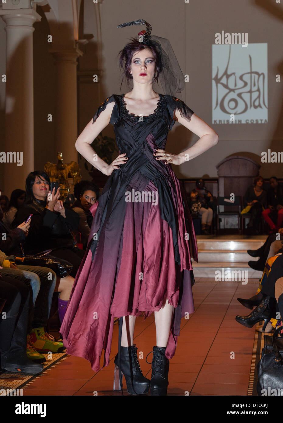 New York Fashion Week Fashion Show February 13 In Holy Apostles Stock Photo 66656230 Alamy