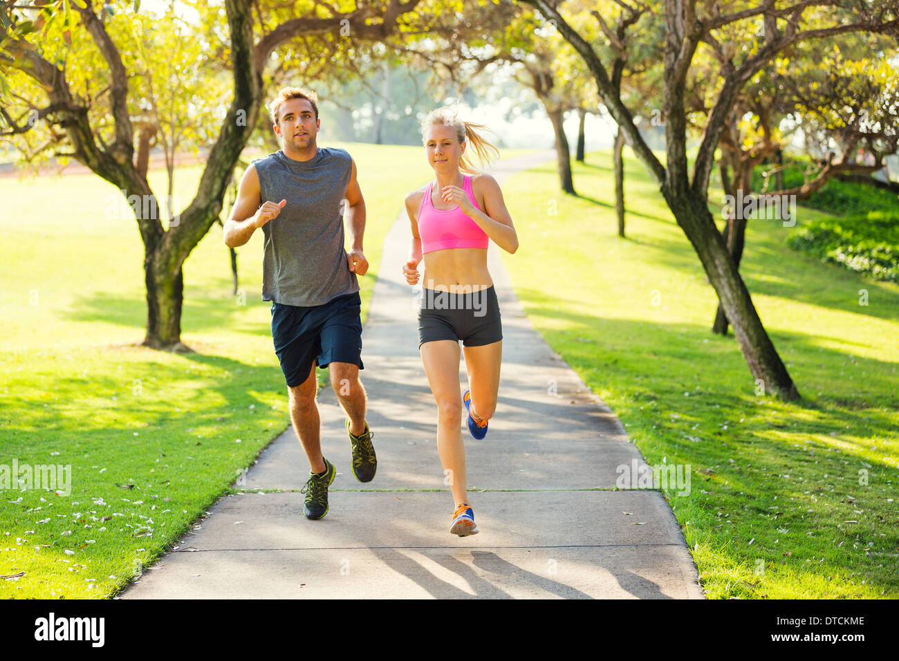 A day jogging in the park essay