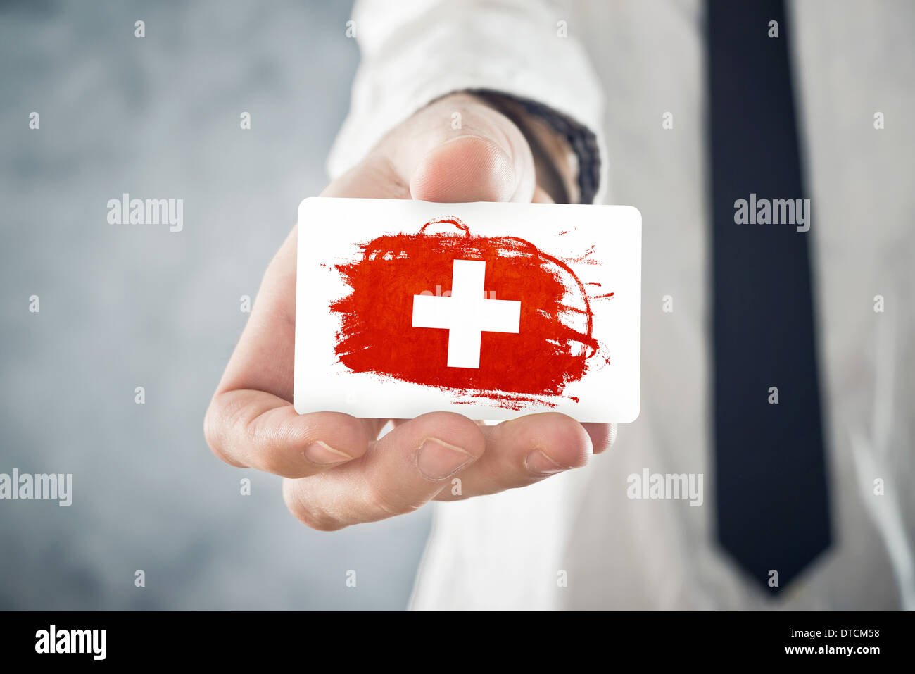 Swiss businessman holding business card with switzerland flag stock swiss businessman holding business card with switzerland flag international cooperation investments business opportunities colourmoves