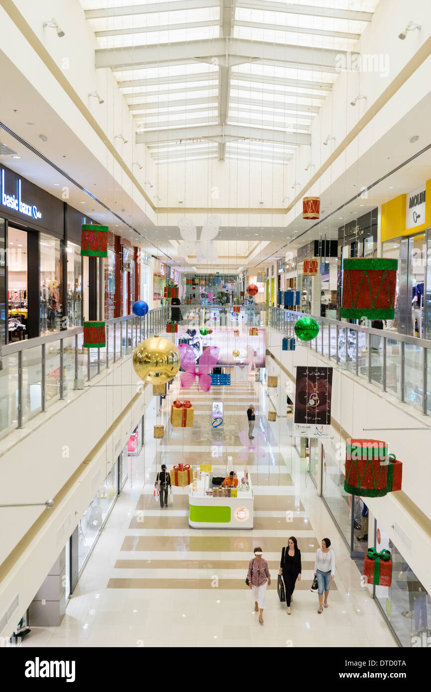 Dubai Outlet Mall with discount brand shops in Dubai United Arab Emirates - Stock Image