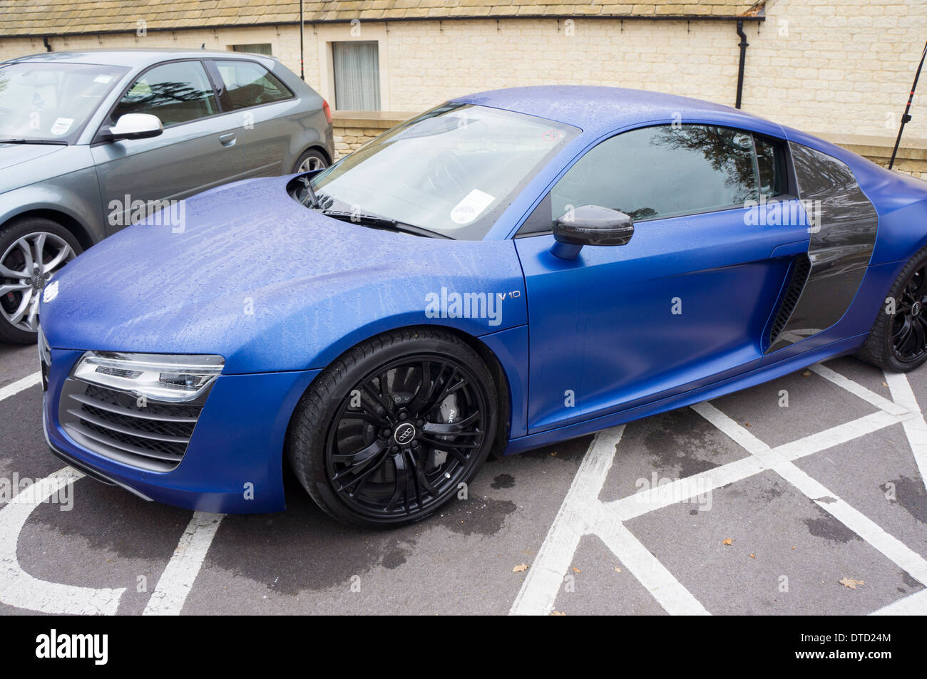 Audi R At A Main Dealer Publicity Day Stock Photo Alamy - Day audi