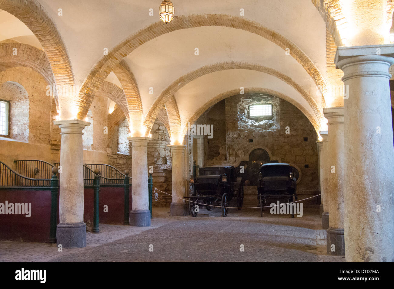 Royal Stables, Cordoba, Andalucia, Spain. - Stock Image