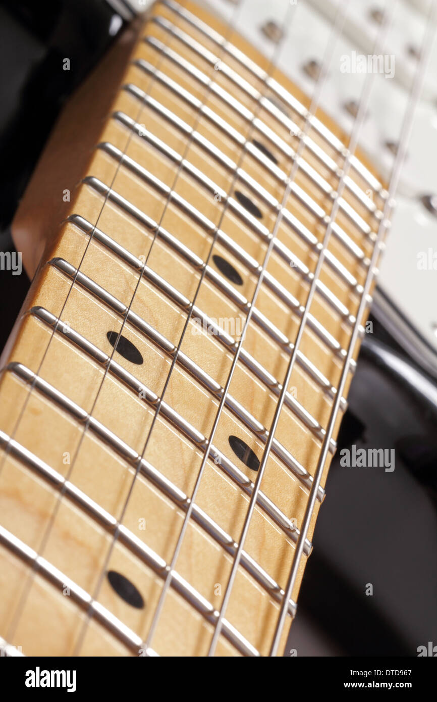 guitar neck stock photos guitar neck stock images alamy. Black Bedroom Furniture Sets. Home Design Ideas
