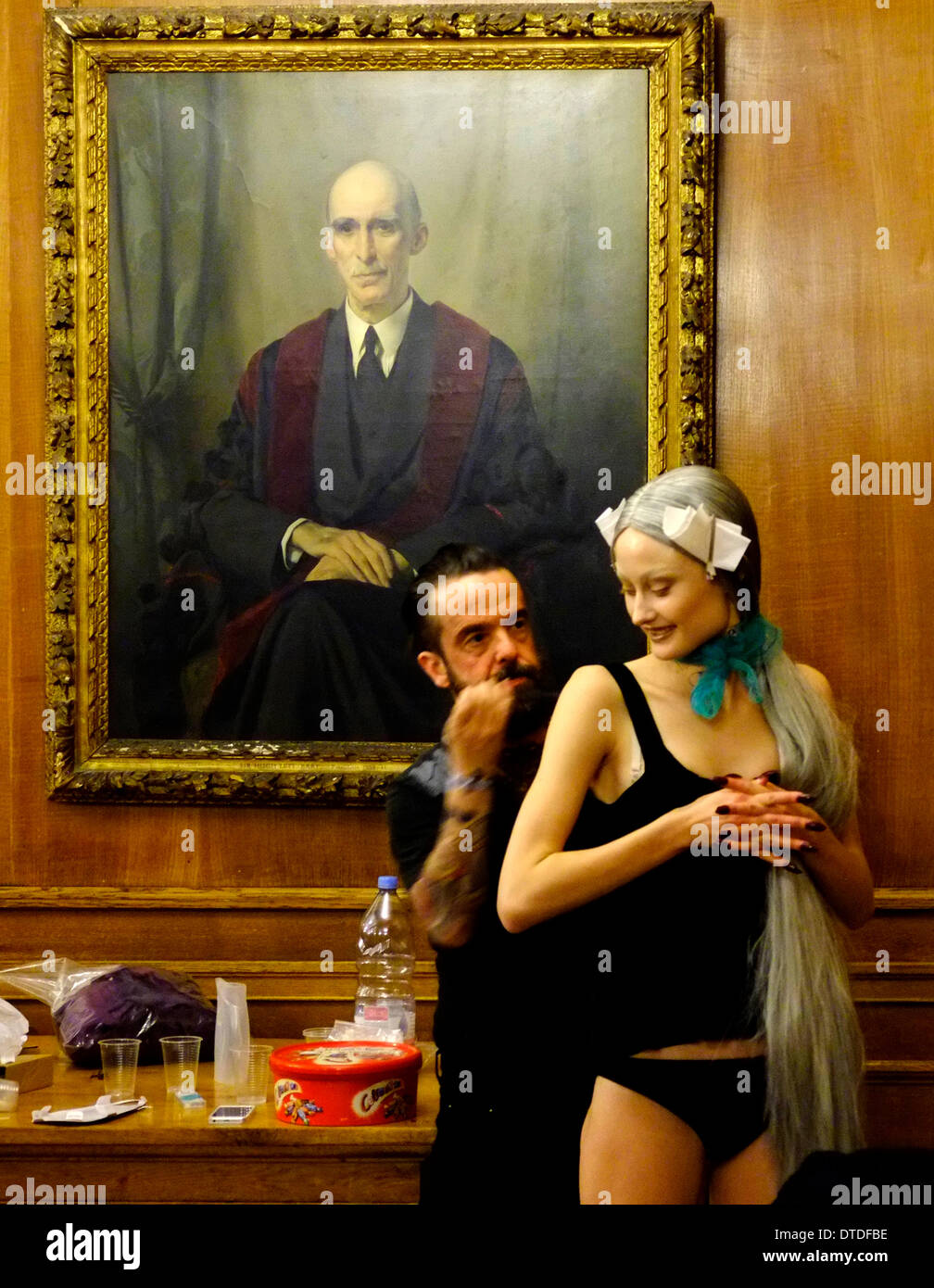 Sorapol A/W 14 show at Royal College of Surgeons London. - Stock Image