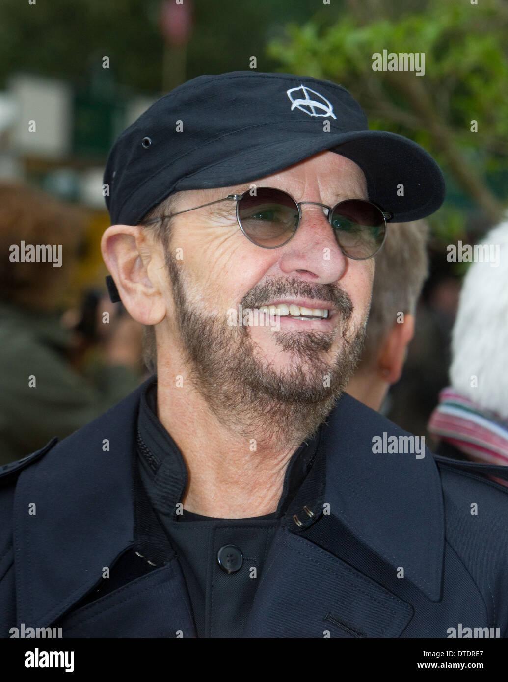 Ringo Starr-Chelsea Flower show - Stock Image