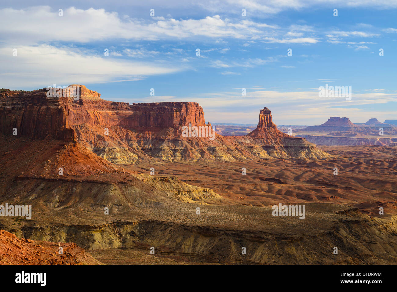 Candlestick Butte, Canyonlands National Park, Islands in the Sky, Utah, USA - Stock Image