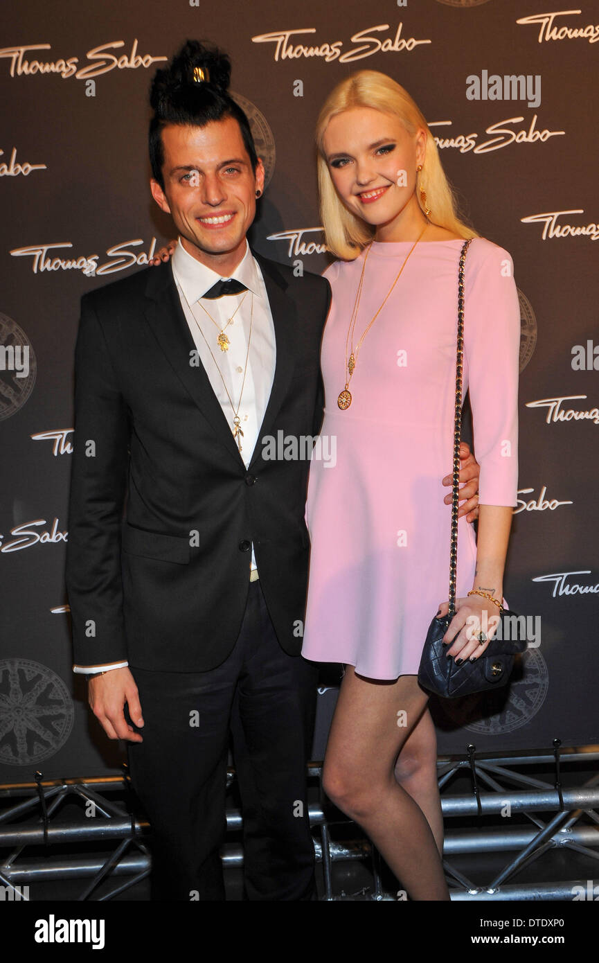 Model Bonnie Strange And Husband Carl Jakob Haupt At Thomas Sabo