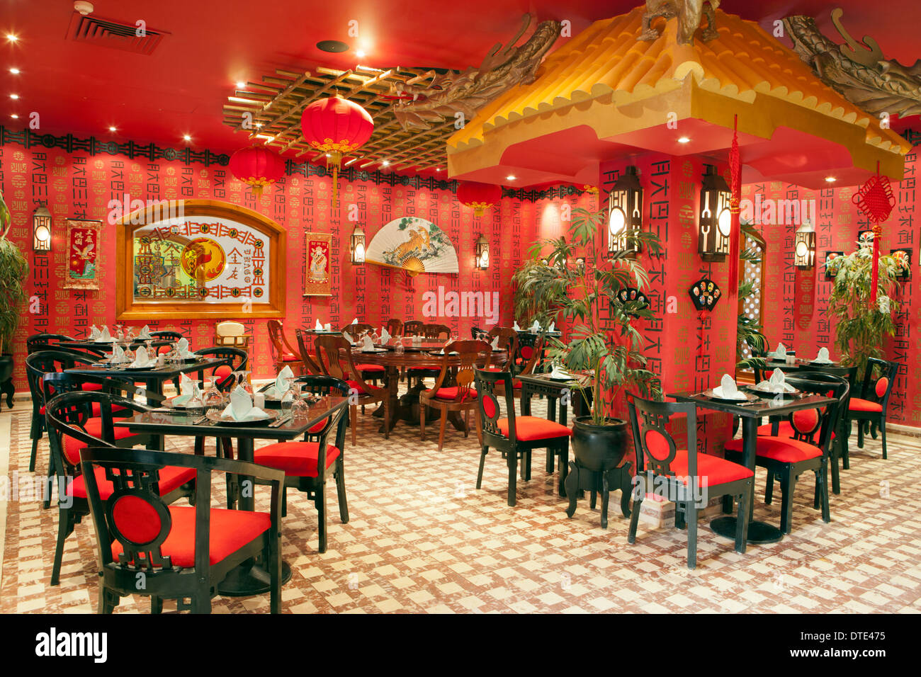 Chinese restaurant stock photos chinese restaurant stock - Chinese restaurant interior pictures ...
