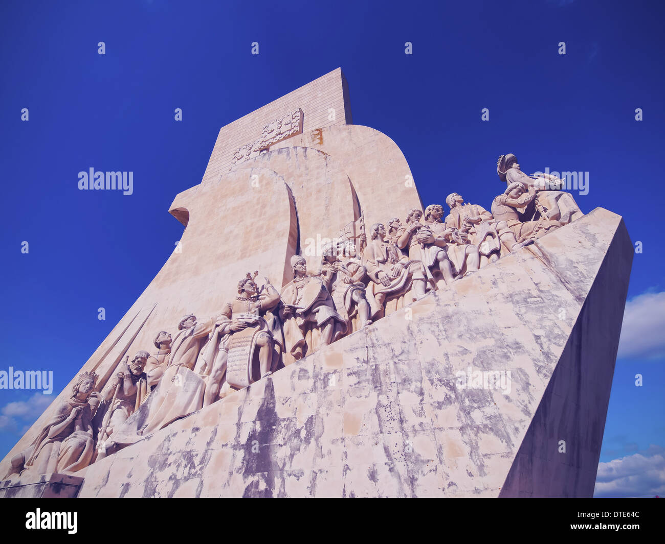 Padrao dos Descobrimentos - Monument to the Discoveries in Belem, Lisbon, Portugal - Stock Image