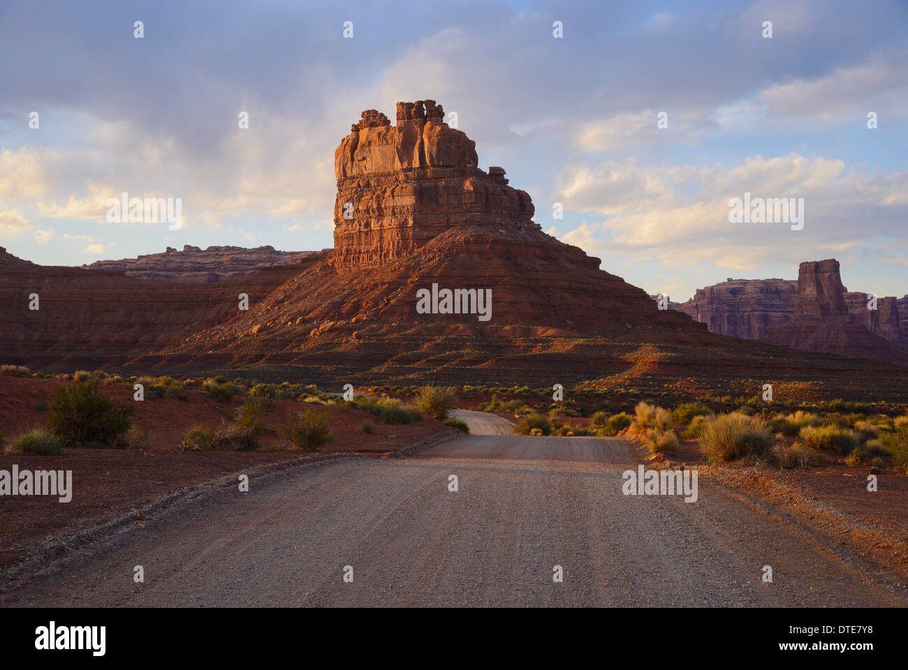 Valley of the Gods, Utah, USA - Stock Image