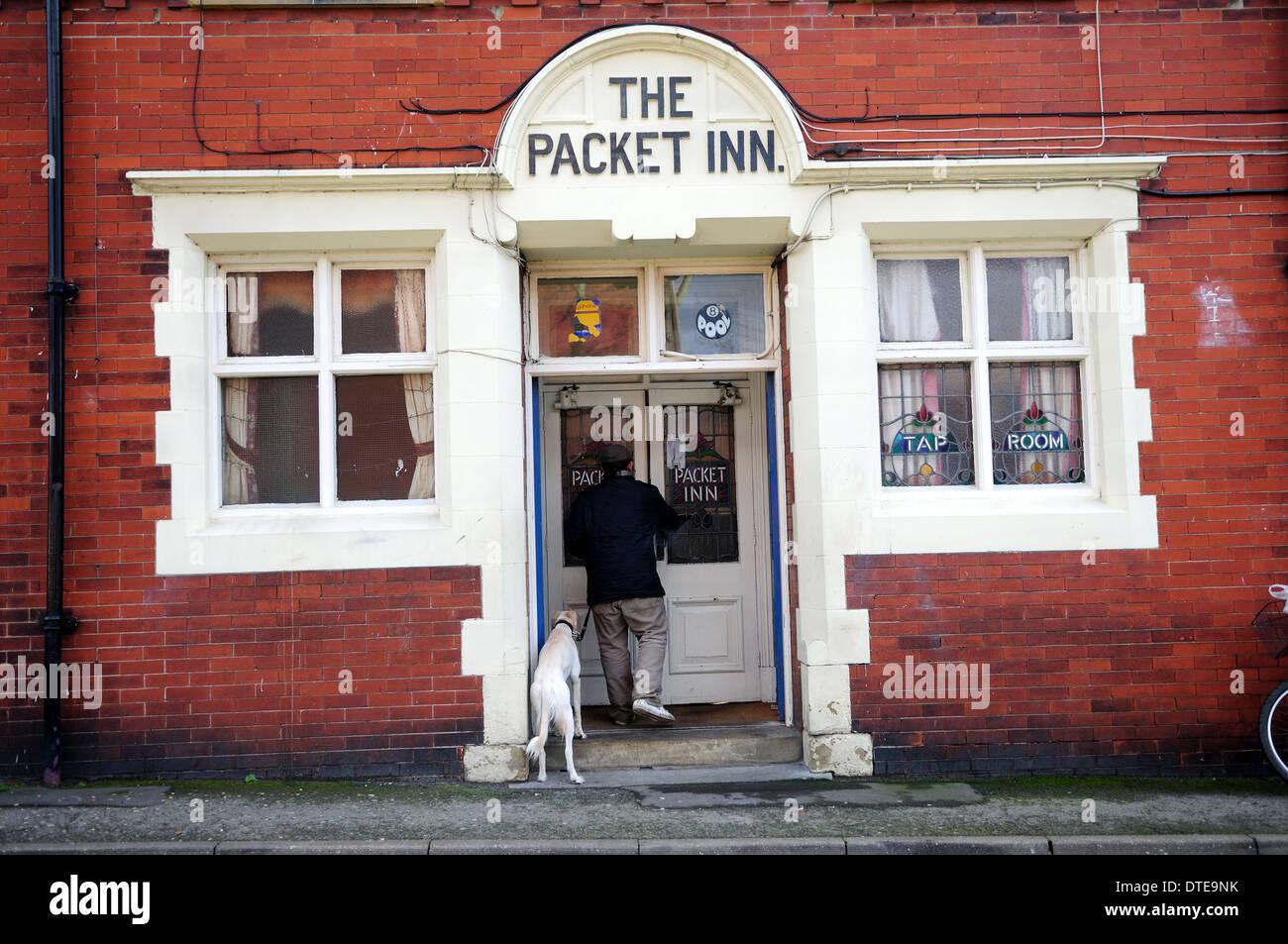 The Packet Inn,Retford Nottinghamshire ,England,UK - Stock Image