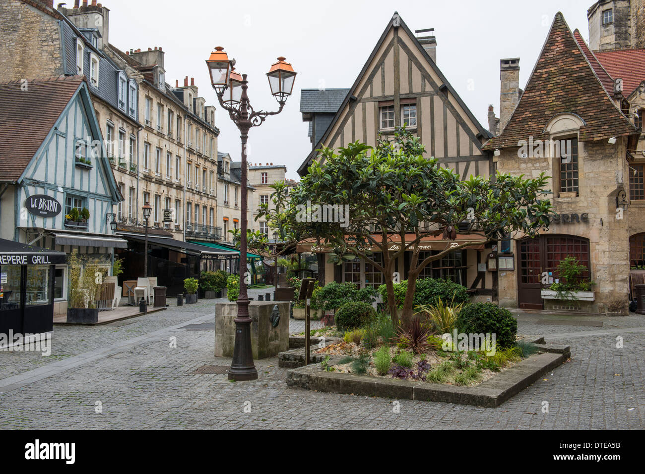 old quarter of caen in the calvados 14 departement of france very stock photo 66698167 alamy. Black Bedroom Furniture Sets. Home Design Ideas