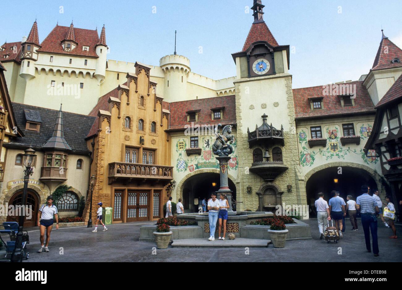 Germany replica at epcot world showcase pavilion orlando for Replica mobel deutschland