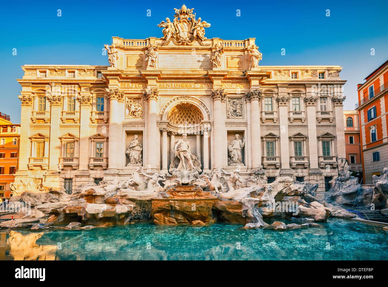 Fountain di Trevi - Stock Image