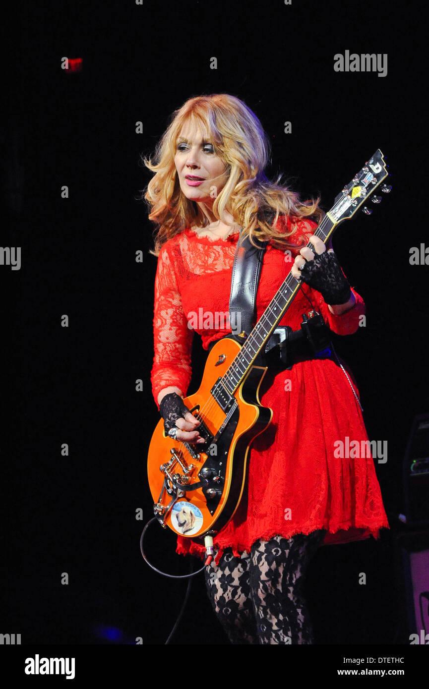 Texas, USA  14th Feb, 2014  Musician Nancy Wilson of Heart