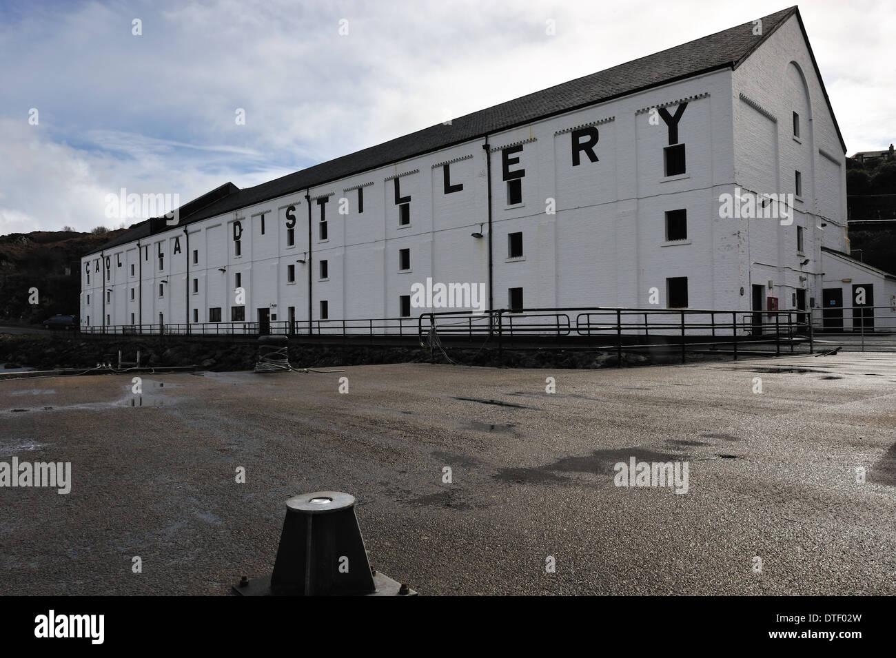 Cao lIla Whisky Distillery, Islay, Scotland - Stock Image