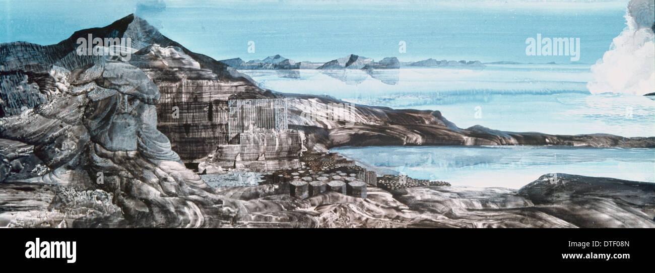 Early Precambrian Coast - Stock Image