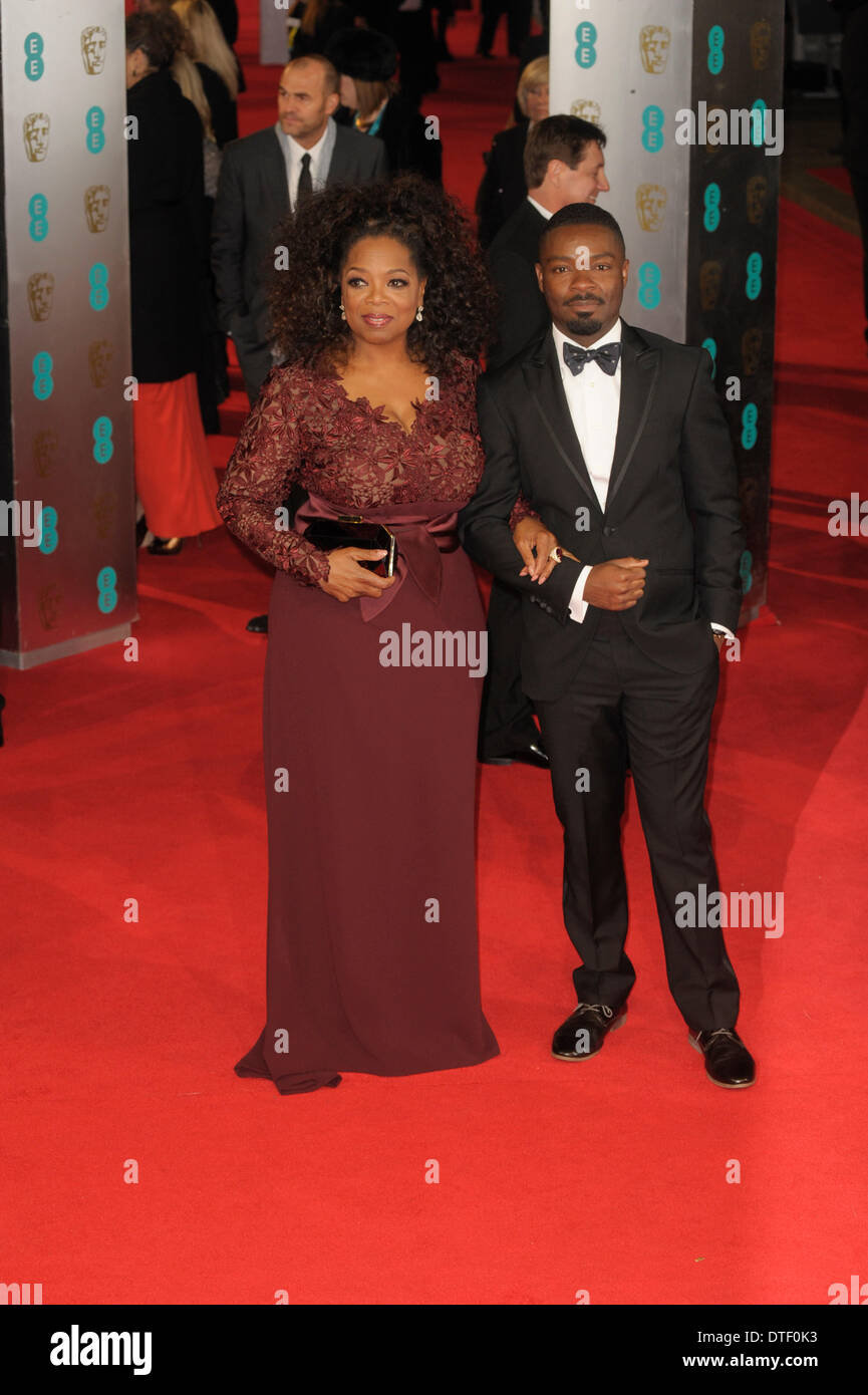 London, UK, 16/02/2014 : Red Carpet Arrivals at the EE British Academy Film Awards. Persons Pictured: Chiwetel Ejiofor. - Stock Image