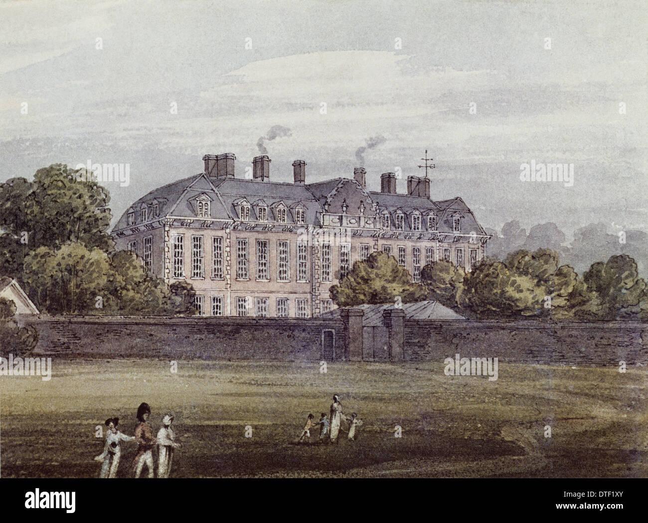 Montagu House, Bloomsbury - Stock Image