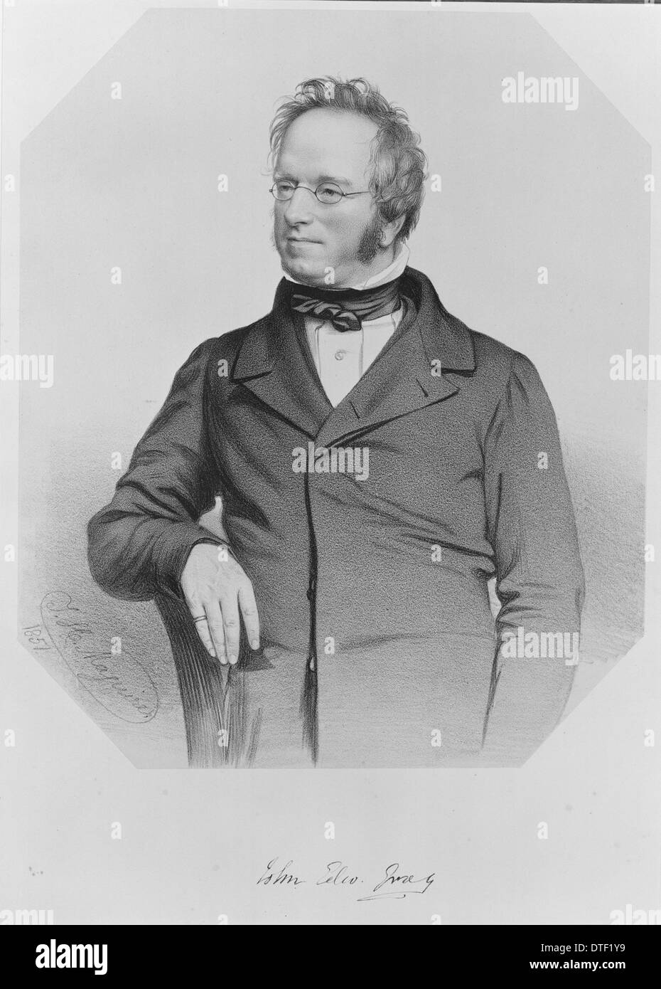 John Edward Gray (1800-1875) - Stock Image