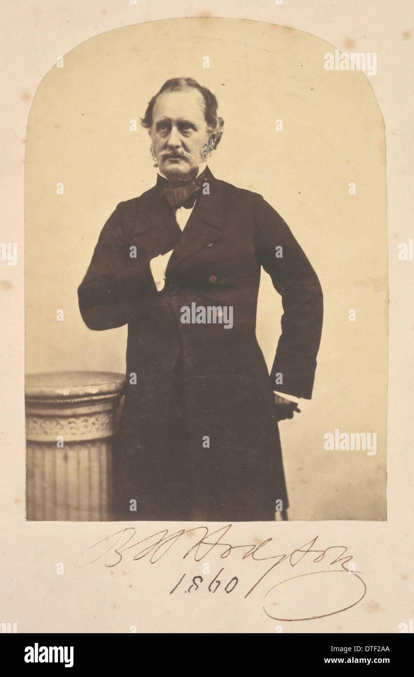Brian Houghton Hodgson (1800-1894) - Stock Image